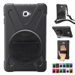 Armor Case para Apple iPad Air Mini 4 3 2 1 A1822 360 girando a mano PC + Funda de silicona Soporte con tapa Cubierta para despertar dormir con cinturón