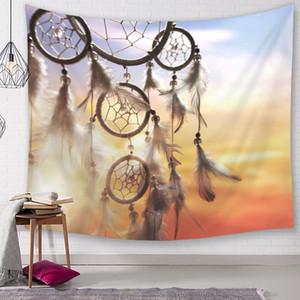 boho dream catcher tapisserie indien tenture décoration maison dortoir ferme tapiz spectacle pièce tapis couverture