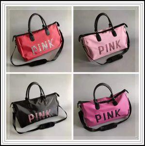 4 colori rosa Paillettes borsetta rosa Borsa sportiva di grande capienza di viaggio borsoni impermeabile Beach sacchetto esterno sacchetti di immagazzinaggio CCA9824