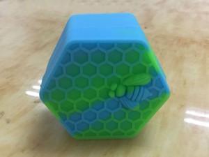 Silicone Wax Box New Pots Silicone Pour Atomiseur Vaporisateur E Cigarette Huile Cire Box Cire De Silicone Réutilisable