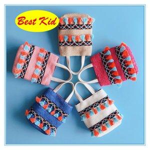 Plaj Toddlers Çocuklar Düşük Nakliye! Fiyat Çanta Saman Yeni Omuz Çocuk Bebek Kız Çanta Çanta BestKid Çanta Ücretsiz DHL Mini Tote Dxth
