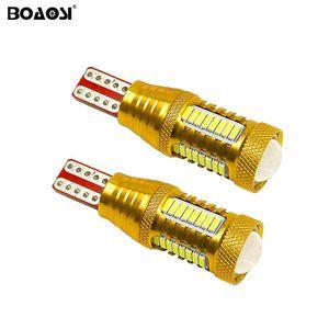 Новое обновление резервного копирования обратный свет лампы T15 W16W 912 921 LED 4014 чип высокой мощности светодиодные лампы