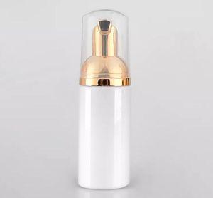 50ML زجاجة رغوة بيضاء رغوة الذهب مضخة الصابون موزع زجاجة من البلاستيك lottion