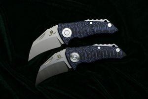 Медвежий коготь Оригинальный Parrot D2 стальной подшипник складной нож G10 Ручка Охота открытый кемпинг выжить карманные ножи фруктов EDC инструмент
