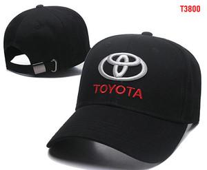 2018 Nuovo cappello gorras Toyota Cotone ricamo Cotone da baseball da baseball regolabile Cappellino da golf Cappelli per auto da donna per uomo estate osso casquette