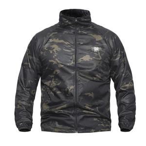 Navy Seal Summer Tactical UPF40 Leichte Camouflage Jacke Herren Wasserdichte, ultradünne Regenjacke Windbreaker Military Army Skin Jacken