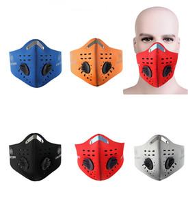 Xintown PM2.5 Frauen Männer Radsports Masken Kohlefilter Staubmaske Smog Schutz Half Face Mask Neopren-Maske