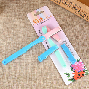 replaceable blade beauty makeup knife eyebrow trimmer beauty tools