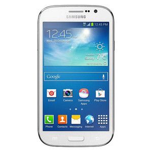 Оригинал Восстановленное Samsung GALAXY Grand DUOS I9082 WCDMA 3 Г WI-FI GPS Разблокировать Dual Micro Sim-карты 5 дюймов 1 ГБ / 8 ГБ Wi-Fi Bluetooth Сотовые телефоны