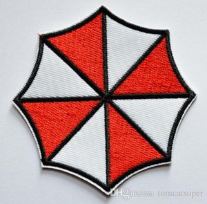 HOT SALL! ~Free Shipping~ Resident Evil Umbrella Iron On Patches, sew on patch,Appliques, Made of Cloth,100% Guaranteed Quality