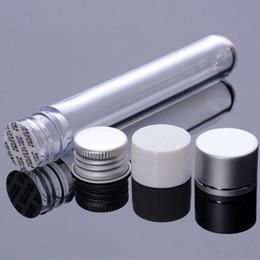 500pcs / Lot 25ml 플라스틱 튜브 병 알루미늄 스크류 캡 빈 다시 채울 수있는 샘플 테스트 포트 사탕 상자 웨딩 파티 용품