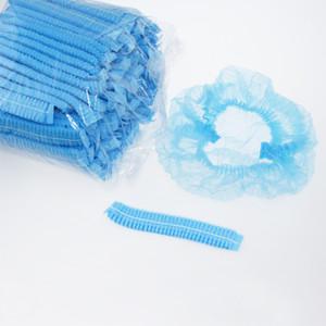 Ücretsiz kargo 100pcs atılabilir Dokumasız saç kapakları duş Anti Toz Şapka Bath Spa Hair Salon için Caps kapakları