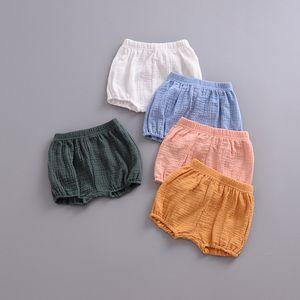 INS Baby Unisex PP Shorts niños niños niñas algodón de lino PP grandes llevar pañal Shorts pantalones para niños lindos recién nacido Baby Boy ropa