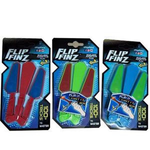Diy LED Light Up Desintoxar Brinquedo Rotativo Da Ponta Do Dedo Balisong Fidget Spinner Brinquedos Flip Finz Revolvendo Borboleta Faca Anti Stress 12xc BB
