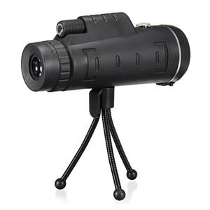 40x60 أحادي في الهواء الطلق واحد البسيطة hd أحادي العين ل كاميرا الهاتف الخليوي عدسة التكبير تلسكوب الإكتشاف نطاق البصرية عدسة مناظير