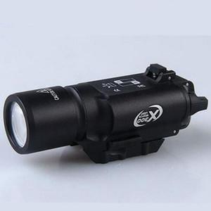 Тактический 500 люмен светодиодный фонарик X300 Lanterna белый свет факел для винтовки