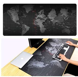 Venta caliente Extra Large Mouse Pad Old World Map Gaming Mousepad Alfombra antideslizante de Gaming Natural Mouse Mat con Locking Edge