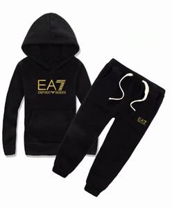 HOT En stock Conjuntos de ropa para bebés INS Ropa para niños Otoño e invierno Nuevo patrón Hombre Chica Suéter Traje chaqueta para niños ropa oerwds