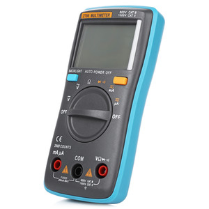 Freeshipping Big Screen Digital Multimeter AC   DC voltage AC   DC current resistance diode continuity testing
