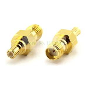 10 Stück Gold SMA Buchse JACK zu MCX Stecker Adapter Stecker SMA zu MCX