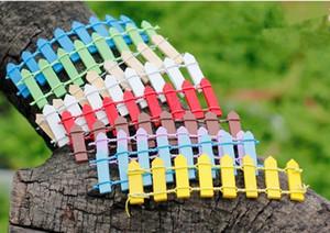 Mini recinto di legno di piccola barriera resina in miniatura decorazioni di fata in miniatura Recinzioni in miniatura per giardini piccole barriere vendita calda DHL LIBERA