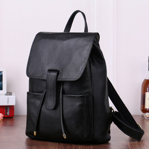 Designer Backpack Luxury Quality Handbag Real Oxidation Handbags Fashion Famous Bag Good Luxury Backpack Cheap Original Leather Backpac Aaqd