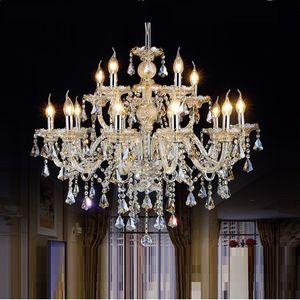 티파니 샹들리에와 펜던트 거실 램프 조명 현대 크리스탈 샹들리에 실내 램프 호텔 홀 조명
