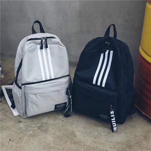Wind Both Shoulders Package Capacity Lovers Backpack A Travel Tide Backpack