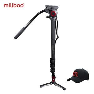 Commercio all'ingrosso MTT705B portatile treppiede in fibra di carbonio monopiede per videocamera professionale videocamera / video / DSLR stand, metà prezzo di Manfrotto