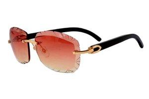 2019 الحجم: Natural Black 8300715، النظارات الشمسية، النظارات الشمسية الشخصية، اسم قرن مخصص كن محفورا 58-18-140 ملليمتر