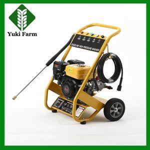 150 kg high pressure washer 9L flow 6.5HP pump cart gasoline high pressure washer car washing machine 4-stroke