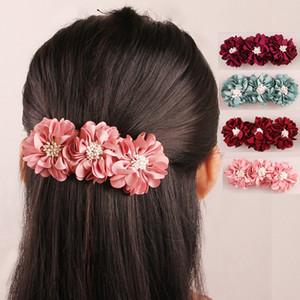 Hair Clips Hair Accessories for Women Girl Weddingy Hair Clips Accessories Floral Barrettes Headwear Girls Beautiful