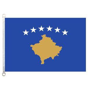 Kosovo flag,90*150CM ,100% polyester, banner,Digital Printing