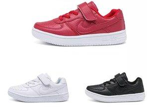 Niños 2018 New Girls Boys Calzado deportivo blanco Además de algodón, zapatos de estudiante cálidos, zapatos casuales para niños size26-36. Envío gratis
