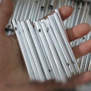 DIY del carillón de viento Tubos Multi Size Windbell tubo de metal material hueco hacia fuera el colgante de artesanía regalos Inicio 0 3gx4 BZ