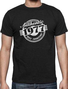 40th Birthday Gift Authentic 1977 Mint Condition Funny T Shirt Novità presente