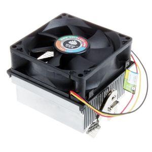 Freeshipping Vente chaude nouveau Ventilateur De Refroidissement PC Radiateur CPU Refroidisseur Ventilateur CPU 100pcs Ventilateurs et Refroidissements De Bonne Qualité