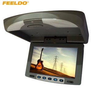 "FELELO 9 ""Flip Down TFT LCD Monitor سيارة مراقب سقف الخيالة مراقب 2-Way إدخال الفيديو 3-لون للاختيار # 1282"