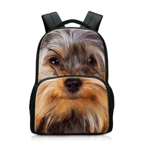 High School Big Students Schoolbag Animal Backpacking Bags Day Pack para hombres Laptop Computer Mochila para niños viaje al aire libre deportes 17 pulgadas