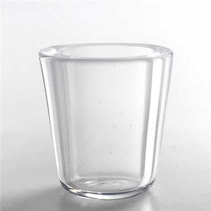 Die Peak-Quarz-Insert Schüssel 100% Echt Quarz Rauchen Dish Spitzen Vapar Quarz-Einsatz für Customized Insert Bowls Betupfen