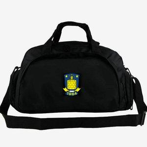 Sac de sport Brondby IF Drengene de Vestegnen sac de sport club de football sac à dos badge de football bagages sac à bandoulière sport sac à bandoulière