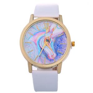 YOYO fashion 2018 kids children boys girls Unicorn leather watch wholesale new women ladies dress quartz roma design wrist watches
