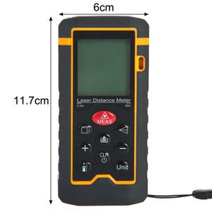 Freeshipping Handheld Laser Rangefinder Distance Meter Digital Laser Range Finder Tape Measure Area Volume Tester Tool HT-40