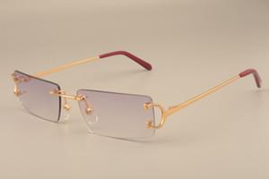 diretta nuova moda lente quadrati di fabbrica, gli occhiali da sole del tempio ultra leggera in metallo 4193827 occhiali da sole casuali tempio artiglio di metallo, dimensioni: 56-18-135mm