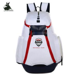 Marca recomendada caliente mochila de diseño mochila de Europa y América bolsa de baloncesto bolsa de deportes al aire libre bolsa de viaje mochila compras libres