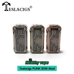 Tesla Punk 85w Box Mod Teslaecigs Punk Mod Punk Style Angetrieben durch Dual-18650 100% ursprünglicher