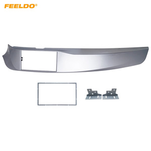 FEELDO Auto 2DIN Stereoradio ABS Fascia Platte Plattenrahmen für Alfa Romeo Giulietta (940) linke Rad CD / DVD-Radio-Panel Dash Mount Kit # 5249