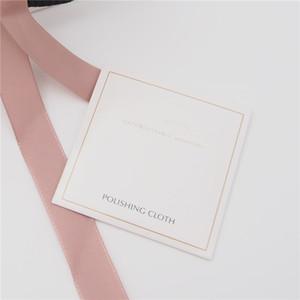 Inicio 500 unids DHL Plata paño de pulido para Pandora 925 plata esterlina Charm Bead collar pulsera joyería de moda limpiadores polaco