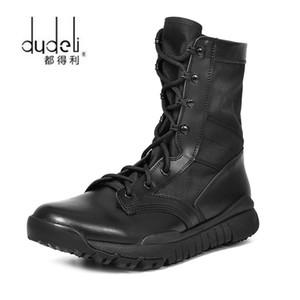 DUDELI Sonbahar Açık Ordu Çizmeler erkek Özel Kuvvet Çöl Savaş Botları Ayakkabı Su Geçirmez Ayak Bileği