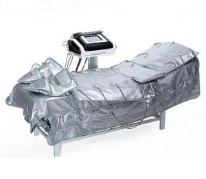 Заводская цена !!! 3 В 1 Microcurrent Инфракрасная прессотерапия Pressoterapia Лимфодренаж Detox Preoterapia Машина для похудения красоты машины